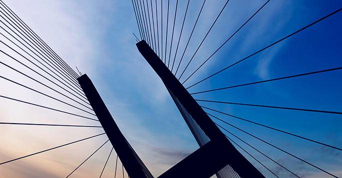 suspension bridge image